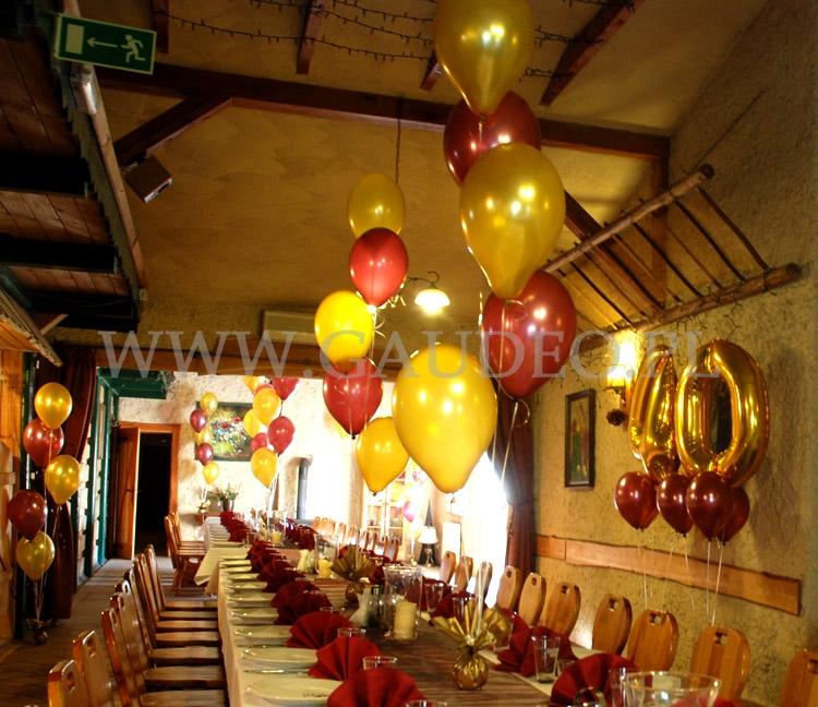 Dekoracje Balonowe Na 40 Urodziny