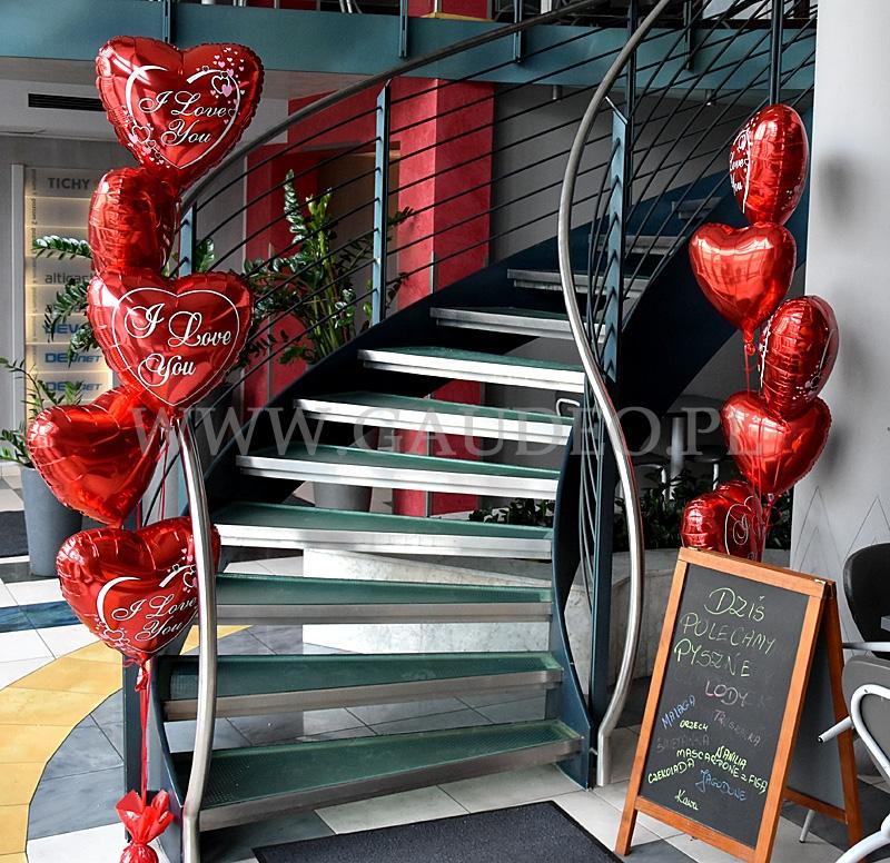 Balonowe Dekoracje Walentynkowe Balony Walentynki