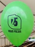 Nadruk logo na balonie.