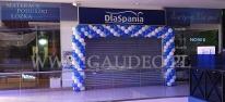 Brama z balonów dla salonu DlaSpania.