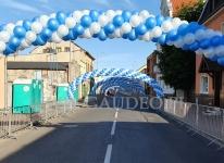 Bramy z balonów w Grodzisku Wielkopolskim.