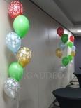 Balony z helem na mikołajkowy event.