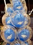 Balony helowe z okazji otwarcia w Gliwicach.