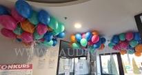 Balony helowe po dostawie.