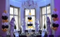 Bukiety z balonów helowych w hotelu Platinum Palace.