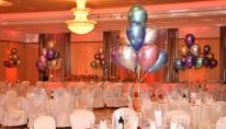 Balony z helem we wrocławskim Hotelu.