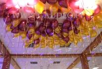 Balony z helem we Wrocławiu.