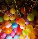 Helowe balony do rozdawania dla dzieci.
