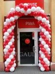 Balonowa brama we Wrocławiu.