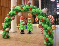 Dekoracja balonowa Galerii Handlowej.
