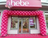 Brama balonowa we Wrocławiu na ulicy Sienkiewicza.