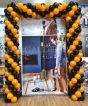 Brama z balonów na otwarcie w Wrocław Fashion Outlet