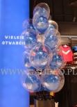 Balony w balonie jako dekoracja na otwarcie.