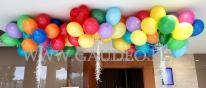 Balony helowe dostarczone do klientów.