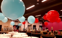 Metrowe balony helowe.