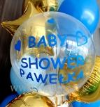 Balon z personalizowanym podpisem.