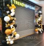 Balonowa dekoracja wejścia - Galeria Magnolia we Wrocławiu.