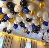Helowe balony na sylwestra.