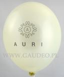 Balon z nadrukiem dla Auri.