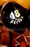 Urodzinowy nadruk na balonie.