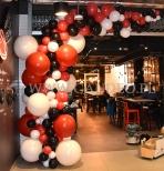 Balony dla nowej warszawskiej restauracji.