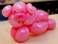 Balonowa świnka.