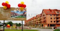 Balonowe dekoracje dni promocji osiedla Złota Podkowa we Wrocławiu.