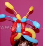 Balonowy turban.