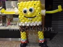 Balonowy Spongebob.