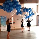 Balony z helem gotowe do rozdawania.