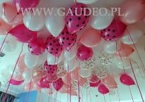 Balony z helem na urodziny.