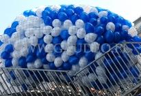 Balony helowe w oczekiwaniu na wypuszczenie