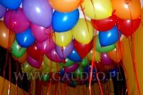 Balony z helem dla dzieci.