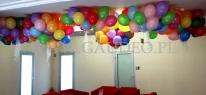 Balony z helem dostarczone na zamówienie jednej z wrocławskich firm.