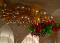 Balony z helem dostarczone do klienta.