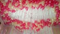 Balony z helem na imprezkę dziecięcą.