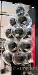 Stroiki z balonów helowych na otwarcie salonu 4F.