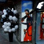 Balony z helem - otwarcie sklepu na Krupówkach w Zakopanem.