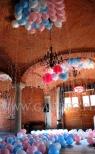 Balony z helem na urodzinach dla dziecka.