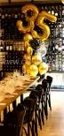 Balony helowe jako dekoracja na urodziny.