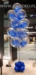 Balony z helem w Galerii Libero w Katowicach.