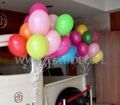 Balony z helem.