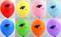 Logo na balonach.