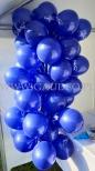 Balony z nadrukiem na patyczkach.