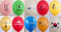 Balony z indywidualnym nadrukiem.