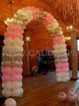 Brama balonowa w nietypowym kształcie.