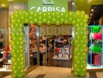 Brama balonowa na otwarcie nowego sklepu sieci Carpisa.