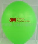 Balon reklamowy z nadrukiem przygotowany dla firmy 3M