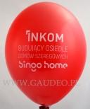Balon z nadrukiem dla firmy INKOM.