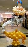 Balonowy Dżin i jego lampa.